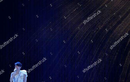 Gigi Leung Hong Kong actress and singer Gigi Leung performs at the Asian Film Awards in Hong Kong