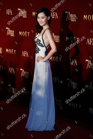 Fala Chen Hong Kong actress Fala Chen poses on the red carpet at the Asian Film Awards as part of the 37th Hong Kong International Film Festival in Hong Kong