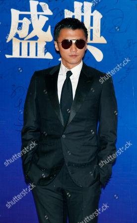 Nicholas Tse Hong Kong actor Nicholas Tse poses on the red carpet at the Huading Awards in Hong Kong