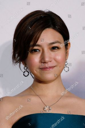 """Michelle Chen Taiwan singer-actress Michelle Chen smiles at a promotional event for her new song album """"Me, Myself and I"""" in Hong Kong"""