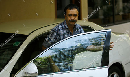Stock Photo of Rajkumar Hirani Bollywood director Rajkumar Hirani arrives at the residence of actor Sanjay Dutt in Mumbai, India, . India's Supreme Court on Thursday upheld the weapons conviction of Dutt and ordered him to report to prison within four weeks in a case linked to the deadliest terror attack in Indian history. Dutt's failed appeal of his conviction was part of a broader ruling by the Supreme Court on cases stemming from the 1993 bombings that killed 257 people in the financial hub of Mumbai