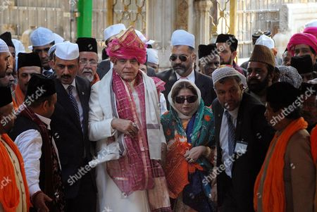 Raja Pervaiz Ashraf Pakistani Prime Minister Raja Pervaiz Ashraf, center left, and his wife Nusrat Pervaiz Ashraf visit the shrine of Khwaja Moinuddin Chishti in Ajmer, India, . Ashraf is in India on a daylong private visit to the Muslim shrine. Sufism is a more mystical form of Islam that is practiced in many parts of South Asia