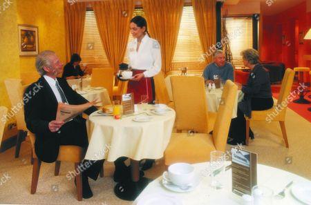 'Crossroads'   -Motel restaurant. Beena Shah [Rebecca Hazelwood]