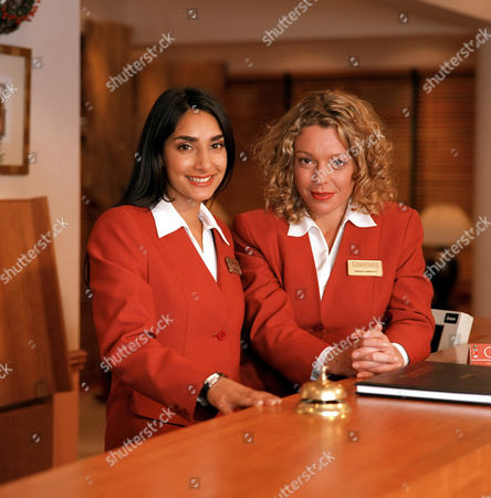 Stock Picture of 'Crossroads'   - Beena Shah [Rebecca Hazelwood] Sarah Jane [Holly Newman]