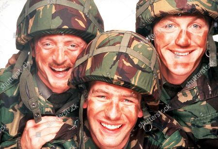 'Soldier Soldier'  - Gary Love, Robson Green and Jerome Flynn