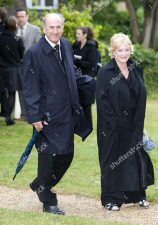 Russ Abbot and wife Trisha