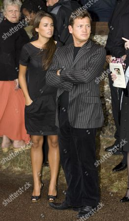Polly Parsons with Sid Owen