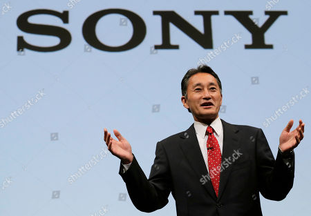 Kazuo Hirai Sony President and CEO Kazuo Hirai speaks during a press conference at the Sony Corp. headquarters in Tokyo, . Hirai said the company's board will discuss a proposal by U.S. hedge fund manager Daniel Loeb to spin off up to 20 percent of its movie, TV and music division