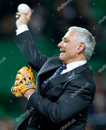 Bobby Valentine Bobby Valentine, a former manager of Boston Red Sox, throws a ceremonial first pitch at the World Baseball Classic first round game between Japan and China in Fukuoka, Japan