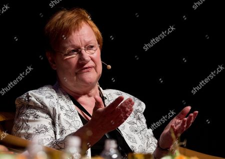 Tarja Halonen Former President of Finland Tarja Halonen addresses the Women Deliver conference in Kuala Lumpur, Malaysia, . The three day conference will focus on the health and empowerment of girls and women and ensuring their rights remain top priorities now, and for decades to come