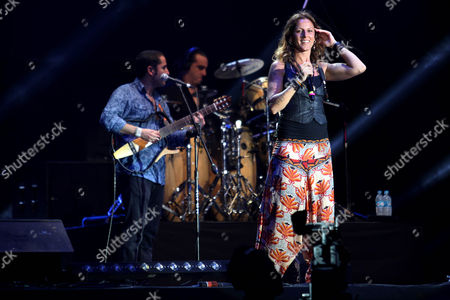 Maria del Mar Rodriguez Carnero Spanish vocalist María del Mar Rodriguez Carnero or La Mari, of the flamenco-electronic band Chambao performs with the band at the Cumbre Tajin music festival in Papantla, Mexico