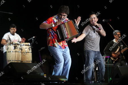 Celso Pina Mexican singer and accordionist Celso Pina performs with his band on the last night of the Cumbre Tajin 2013 music festival in Papantla, Mexico