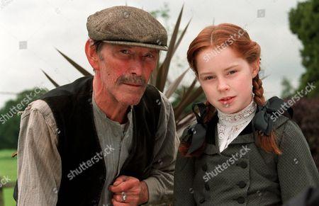 'Pollyanna'  TV - 2002 - Tom Bell as Old Tom and Georgina Terry as Pollyanna.