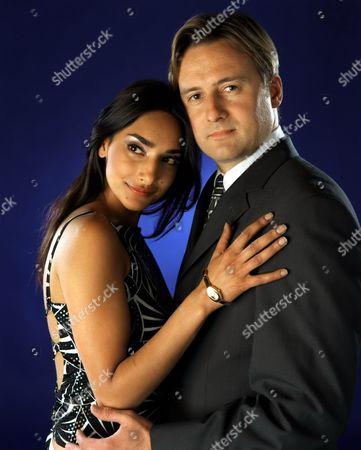 'Crossroads'  TV - 2001 - Beena Shah [Rebecca Hazelwood] Richard [Gary Webster]
