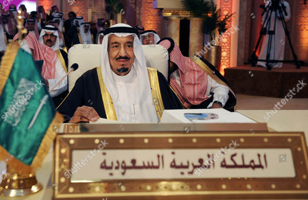 Saudi Crown Prince Salman bin Abdul Aziz al-Saud, attends the opening session of the Arab League summit in Doha, Qatar, . Syrian opposition representatives took the country's seat for the first time at an Arab League summit that opened in Qatar on Tuesday, a significant diplomatic boost for the forces fighting President Bashar Assad's regime
