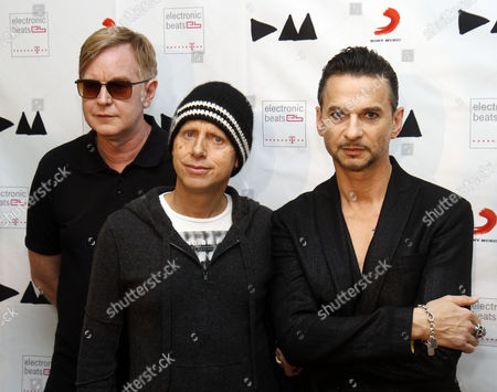 Andrew Fletcher, Martin Gore, Dave Gahan From left, Andrew Fletcher, Martin Gore and Dave Gahan, from Depeche Mode at the Depeche Mode Delta Machine Album launch in Vienna, Austria. Depeche Mode, The Cure, Muse will perform at Austin City Limits Festival on Oct. 4-6 and 11-13