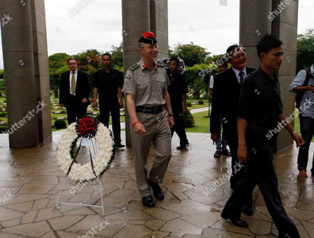 David Richards Britain's Chief of Defense Staff Gen. Sir David Richards, center, arrives at the Allied War Memorial Cemetery in Htauk Kyant, Yangon, Myanmar, . Britain's most senior serving military officer has concluded a visit to Myanmar, the first visit by the head of a Western nation's armed forces since the reform process began