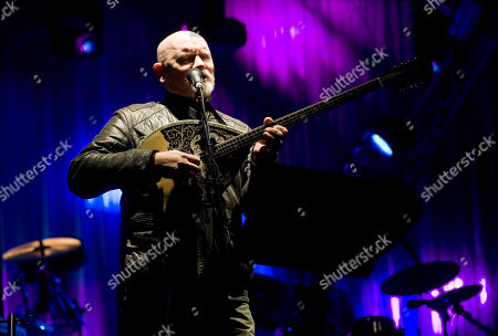 Stock Photo of Brendan Perry, musician and leader of English-Australian rock band Dead Can Dance, performs during the Optimus Primavera Sound music festival in Porto, Portugal