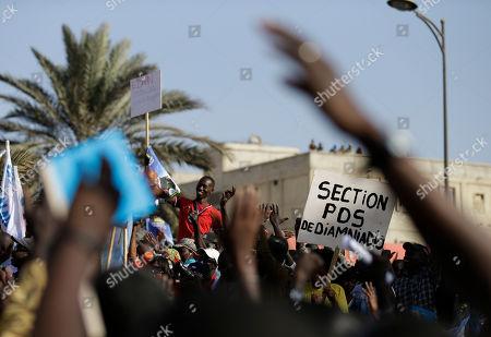 Editorial image of Senegal, Dakar, Senegal