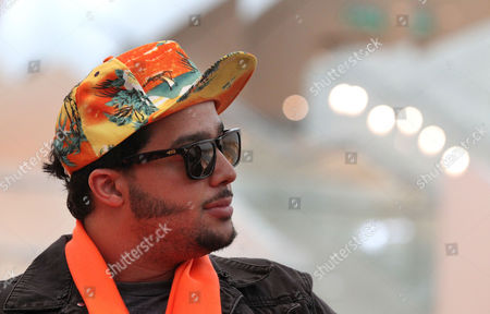 Stock Image of SkyBlu American singer and rapper SkyBlu attends a press conference on in Singapore ahead of the inaugural Social Star Awards