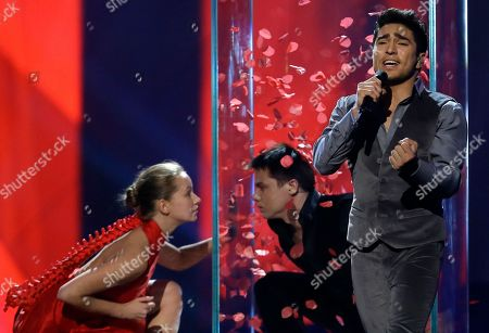 Editorial picture of Sweden Eurovision, Malmo, Sweden