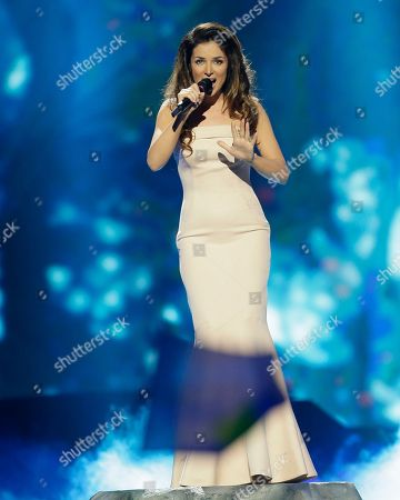 Zlata Ognevich of the Ukraine performs her song Gravity during the final of the Eurovision Song Contest at the Malmo Arena in Malmo, Sweden, . The contest is run by European television broadcasters with the event being held in Sweden as they won the competition in 2012