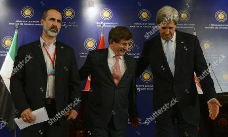 Editorial photo of Turkey US Syria Kerry, Istanbul, Turkey