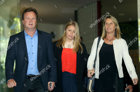 Madeleine Pulver Madeleine Pulver, center, her father Bill, left, and her mother Belinda, right, leave the New South Wales State District Court, after the sentencing of Paul Douglas Peters, in Sydney, Australia, . Peters, an Australian investment banker who admitted chaining a fake bomb to Pulver in Aug. 2011, as part of a bizarre extortion plot, pleaded guilty to the crime and was sentenced to 13 years and six months jail Tuesday