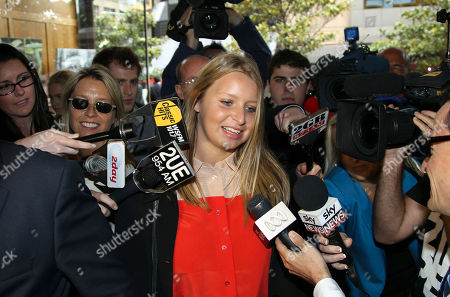 Stock Photo of Madeleine Pulver Madeleine Pulver arrives at the New South Wales State District Court, in Sydney, Australia, for the sentencing of Paul Douglas Peters, an Australian investment banker who admitted chaining a fake bomb to Pulver in Aug. 2011, as part of a bizarre extortion plot. Peters pleaded guilty to the crime and was sentenced to 13 years and six months jail Tuesday