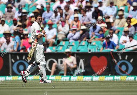 Ed Cowan Australia's Ed Cowan looks back as he walks off the field after Sri Lanka's Nuwan Pradeep runs him out on day two of their third cricket test match in Sydney, Australia