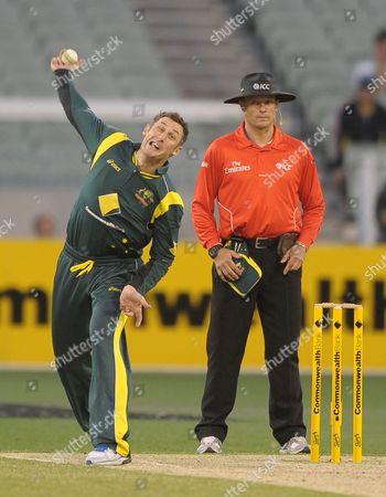 Editorial picture of Australia Sril Lanka Cricket, Melbourne, Australia