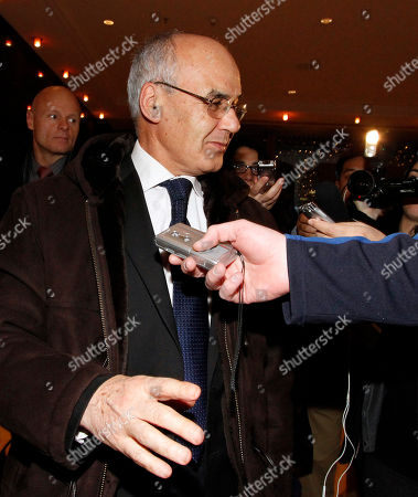 Youcef Yousfi Algeria's Minister of Energy and Mines Youcef Yousfi talks to journalists as he arrives at a hotel for a meeting of the Organization of the Petroleum Exporting countries, OPEC, in Vienna, Austria
