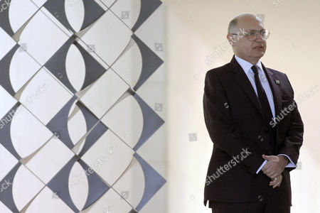 Hector Marcos Timerman Argentina's Foreign Minister Hector Marcos Timerman attends a welcoming ceremony to XLIV Meeting of the Mercosur Council, at the Itamaraty palace, in Brasilia, Brazil