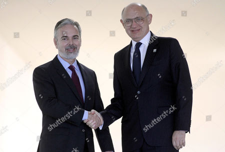 Antonio Patriota, Hector Marcos Timerman Brazil's Foreign Minister Antonio Patriota, left, shakes hands with Argentina's Foreign Minister Hector Marcos Timerman during welcoming ceremony to XLIV Meeting of the Mercosur Council, at the Itamaraty palace, in Brasilia, Brazil