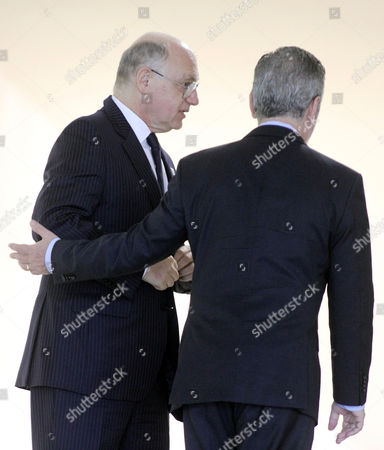 Antonio Patriota, Hector Marcos Timerman Brazil's Foreign Minister Antonio Patriota, right, walks with Argentina's Foreign Minister Hector Marcos Timerman during welcoming ceremony to XLIV Meeting of the Mercosur Council, at the Itamaraty palace, in Brasilia, Brazil