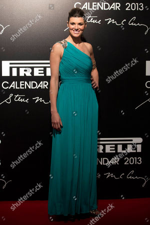 Summer Rayne Oakes Summer Rayne Oake poses for photos at the 2013 Pirelli Calendar red carpet event in Rio de Janeiro, Brazil, . The calendar debuted in 1964 as a racy way of promoting Italian tire maker Pirelli and has since grown into a fashion institution. The 2013 calendar was shot entirely in Rio by celebrated American photojournalist Steve McCurry