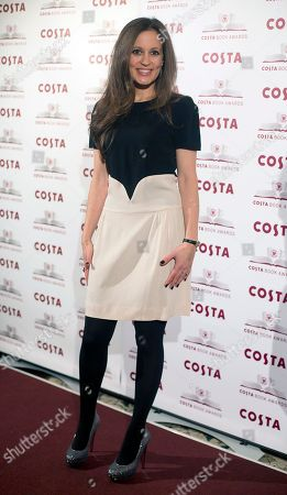 Author Francesca Segal winner of the Costa First Novel Award poses for photographers at the Costa Book awards in London