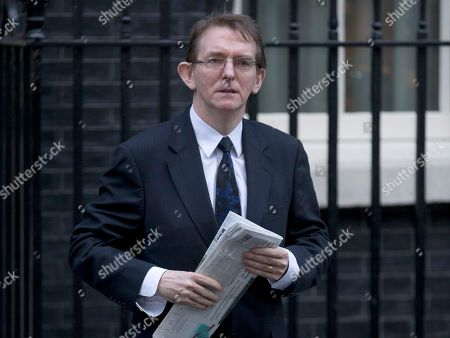 The editor of the London Daily Telegraph newspaper Tony Gallagher leaves after a meeting of fellow newspaper editors and the British Prime Minister David Cameron following the release of the Leveson media inquiry, at Downing Street in London,. Cameron has warned newspaper editors they must act quickly to set up an independent press regulator in the wake of a media ethics scandal
