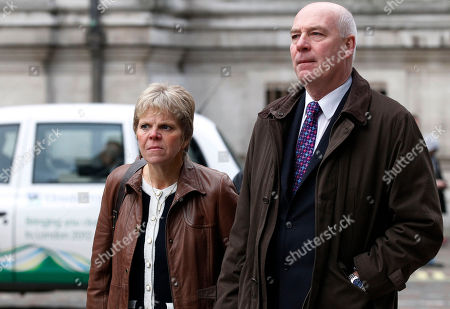 Stock Picture of Bob Dowler, Sally Dowler Bob and Sally Dowler, the parents of murdered schoolgirl Milly Dowler who provided testimony to the Leveson Inquiry, arrive at the Queen Elizabeth II Conference Centre in London where Lord Justice Brian Leveson is to release his report, after a year long inquiry into the culture and practices of the British press and his recommendations for future regulation to prevent phone hacking, data theft, bribery and other abuses