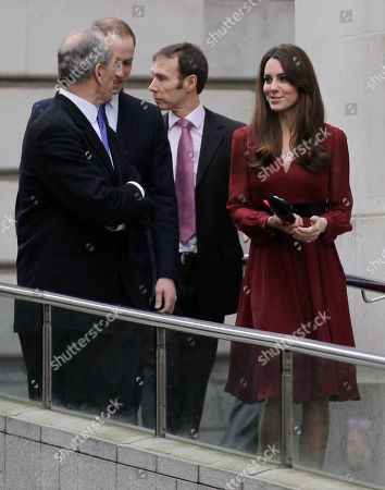 Duchess of Cambridge Kate, Duchess of Cambridge, leaves the National Portrait Gallery in London after viewing a newly-commissioned portrait of her by artist Paul Emsley