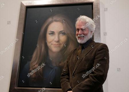 Editorial photo of Britain Royal Portrait
