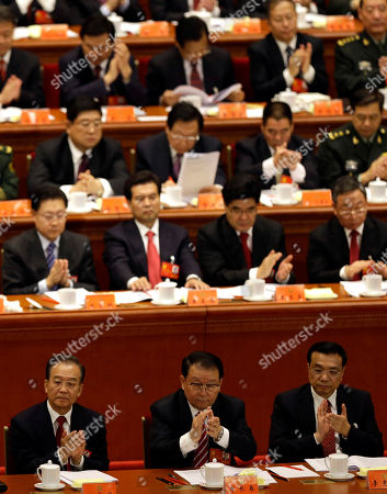 Editorial image of China Congress Next Premier, Beijing, China