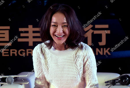 Stock Picture of Zhou Xun Chinese actress Zhou Xun attends a press conference for the movie Cloud Atlas, ahead of the movie's China premiere in Beijing, China. Actress Zhou Zun and actor Archie Kao, surprised everyone by announcing that they were getting married on stage at a concert in Hangzhou . They went on to exchange vows and rings on in front of the audience