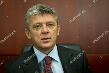 Ivan Turudic Judge Ivan Turudic attends the court session for former Croatian Prime Minister Ivo Sanader in the courtroom in Zagreb, Croatia, . Sanader was found guilty on corruption charges and is sentenced to 10 years in prison