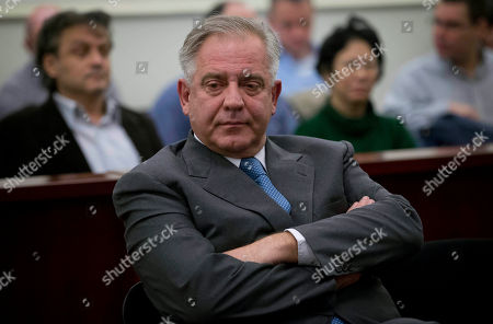 Ivo Sanader Former Croatian Prime Minister Ivo Sanader sits in the courtroom in Zagreb, Croatia, . A court has found former Croatian Prime Minister Ivo Sanader guilty on corruption charges and has sentenced him to 10 years in prison. The 59-year-old, who served as prime minister from 2004 to 2009, is the highest ranking former official tried for graft in Croatia which has pledged to root out corruption as it becomes a European Union member in 2013