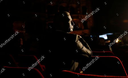 "Classical music composer and presidential candidate Vladimir Franz looks on during a rehearsal of his opera ""War with the Newts"" at the State Opera in Prague, Czech Republic, . Franz is one of nine candidates running for President in the first round of the Presidential election on Jan. 11-12th, 2013"
