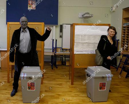 Editorial picture of Czech Republic Presidential Elections, Prague, Czech Republic