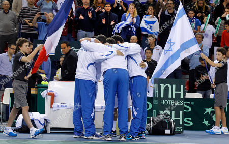 Editorial picture of France Israel Davis Cup, Rouen, France