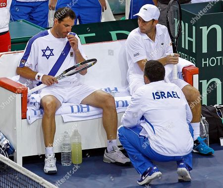 Editorial image of France Israel Davis Cup, Rouen, France