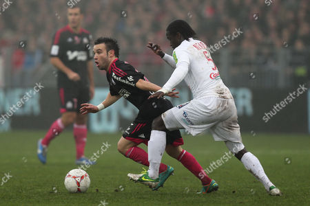 Editorial photo of France Soccer League One, Brest, France